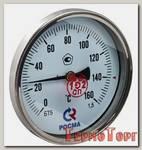 Термометр Росма БT-51 Dy100 с задн. подкл., 1/2 0-160*