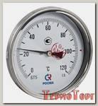 Термометр Росма БT-51 Dy100 с задн. подкл., 1/2 0-120*