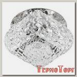 Светильник Эра декор хруст. пирамида G9,40W,12V, JC хром/прозрачный