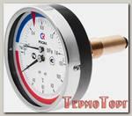 Термоманометр Росма ТМТБ-31Т Dy 80 с задним подключением 1/2, 6 бар 0-120*