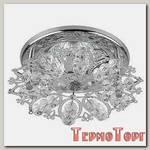 Светильник Эра декор снежинка MR16,12V/220V, 50W, хром/прозрачный