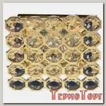 Светильник Эра декор соты MR16,12V/220V, 50W, золото/прозрачный