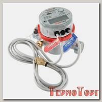 Теплосчетчик квартирный VALTEC VHM-T-20/2,5/P/ ,с тахометрическим расходомером(для установки на подающий трубопровод)(Qn=2,5)