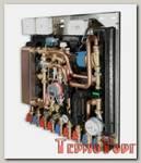 Квартирная станция VALTEC с функцией приготовления ГВ (с рециркуляцией), теплосчётчик M-BUS 1,5 куб.м/час. (диап. регул. 50-70 C)