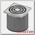 Декоративная решетка TECE TECEdrainpoint S, 100 мм, в пластиковой рамке