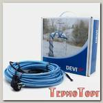 Саморегулирующийся нагревательный кабель Devi DEVIpipeheat DPH-10, с вилкой 2 м 20 Вт