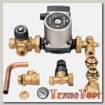 Комплект для насосной группы Stout с термостатическим клапаном и байпасом, Grundfos UPSO 25-65 130, SDG-0020-002002