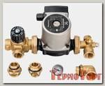 Комплект для насосной группы Stout с термостатическим клапаном, Grundfos UPSO 25-65 130, SDG-0020-001002