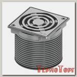 Декоративная решетка TECE TECEdrainpoint S, 100 мм, с фиксаторами, в стальной рамке