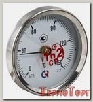 Термометр Росма БT-30 Dy63 накладной, 0-150*